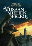 I had some fun looking through the foreign covers for one that better showed Kvothe. This is a Finnish cover for The Wise Man's Fear.