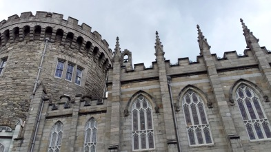 The Medieval Tower and the Chapel Royal at Dublin Castle