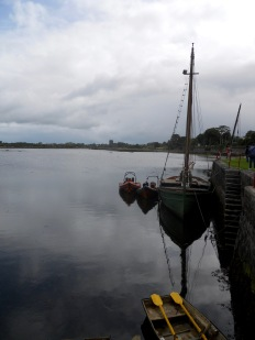 You can see Dunguaire Castle in the distance in this shot.