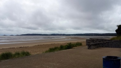 Directly across from the exit to Singleton Park, looking towards Mumbles